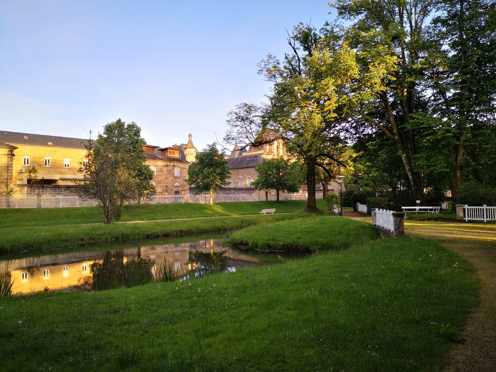 Jardin de L'institut Camille Miet à Leyme