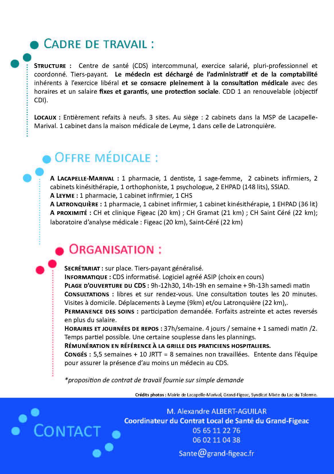 Centre De Santé Intercommunal Contrat Local De Santé Du Grand Figeac